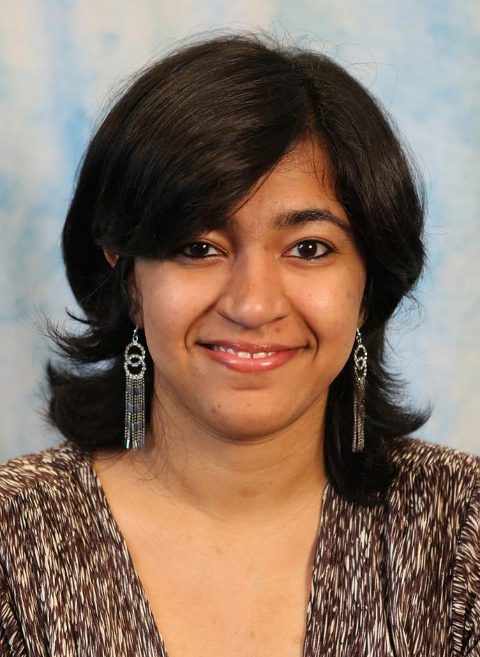 Photo of Prerna Chikersal at start of PhD Program in Fall 2017