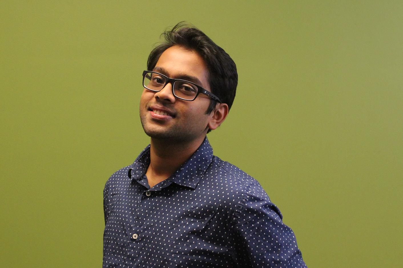 Sriram Venkiteswaran Headshot