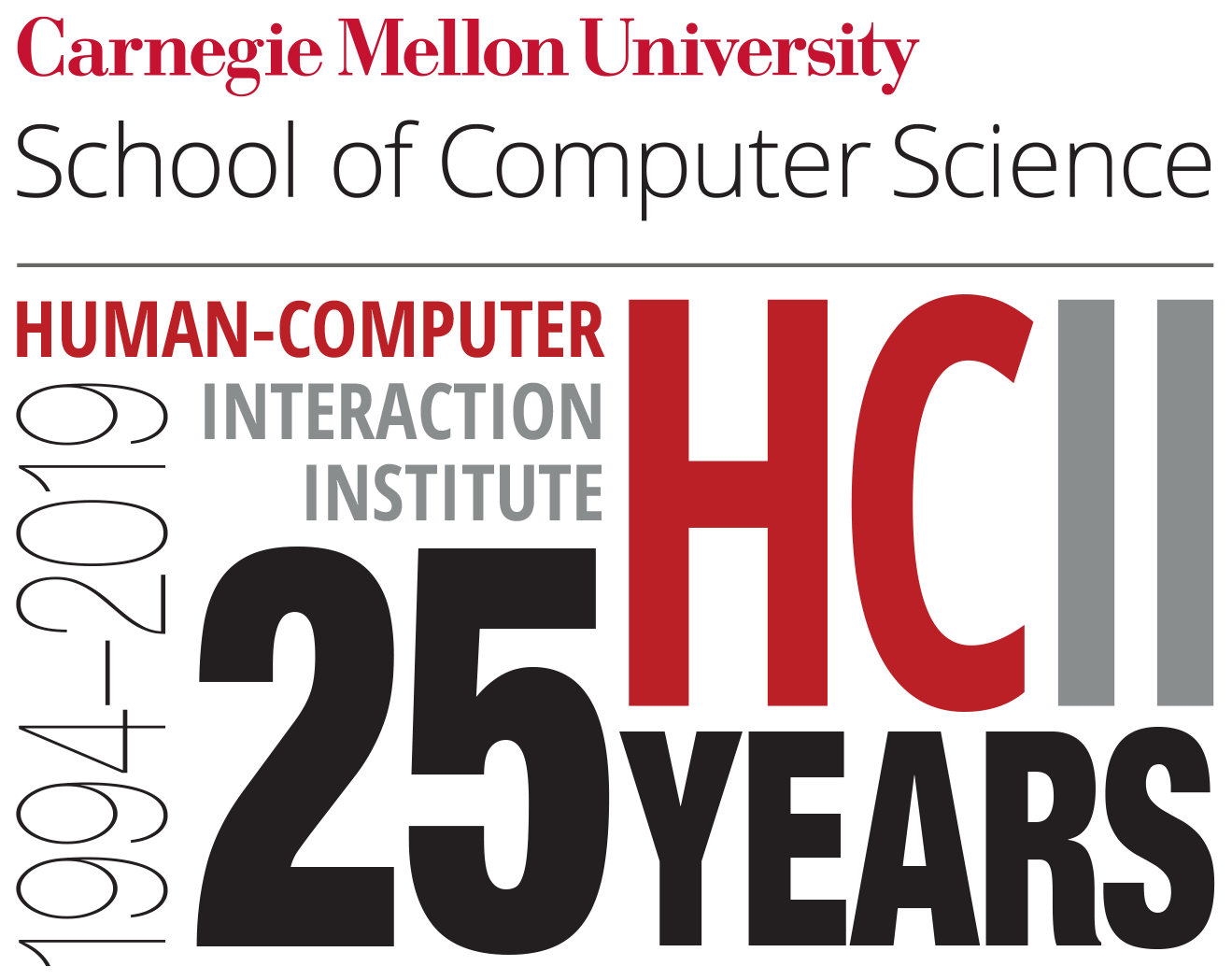 1994-2019 Human-Computer Interaction Institute is celebrating 25 years