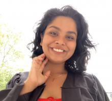 Mansi at commencement