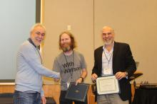 Brad Myers and Jeff Stylos receive Most Influential Paper Award